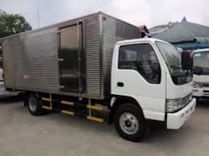 Xe tải jac 1250 Kg thùng kín giá cực mềm tại Bình Dương