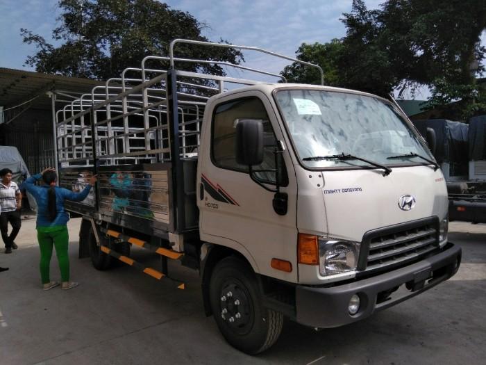 Xe huyndai HD700DV trọng tải 7.5 tấn mới 100%