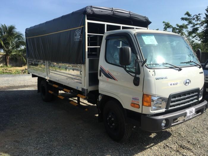 Xe tải Hyundai DoThanh 8 tấn loại HD120S tặng Hộp Đen tại Vĩnh Long, Cà Mau, Bến Tre, Tiền Giang