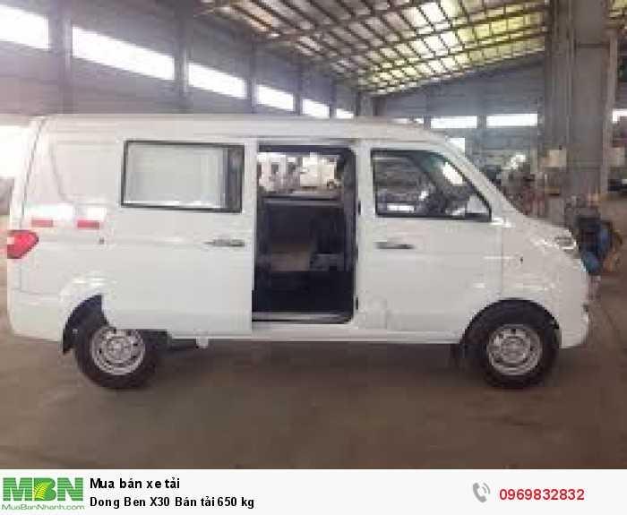 xe bán tải dongben, 5 chỗ ngồi_695kg_cho vay trả góp