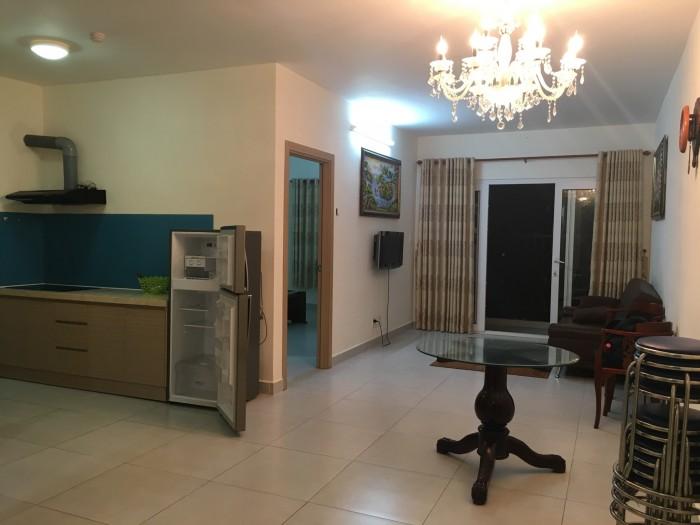 Cho thuê căn hộ full nội thất tại chung cư Bộ Công An, 73m2, 2PN, giá thuê 12tr/tháng