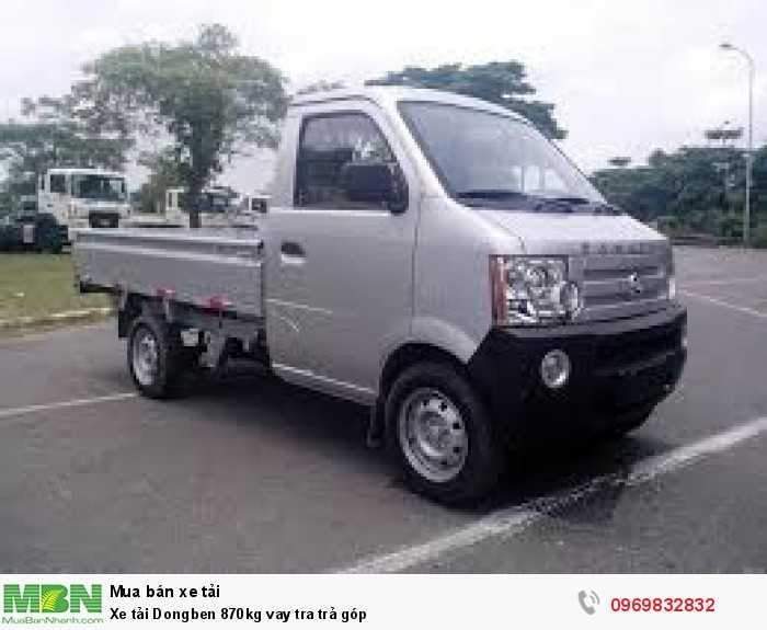 DongBen 870kg Thùng Lửng Xe tải động cơ Xăng