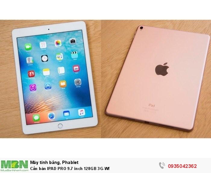 Cần bán IPAD PRO 9.7 inch 128GB 3G-Wf0