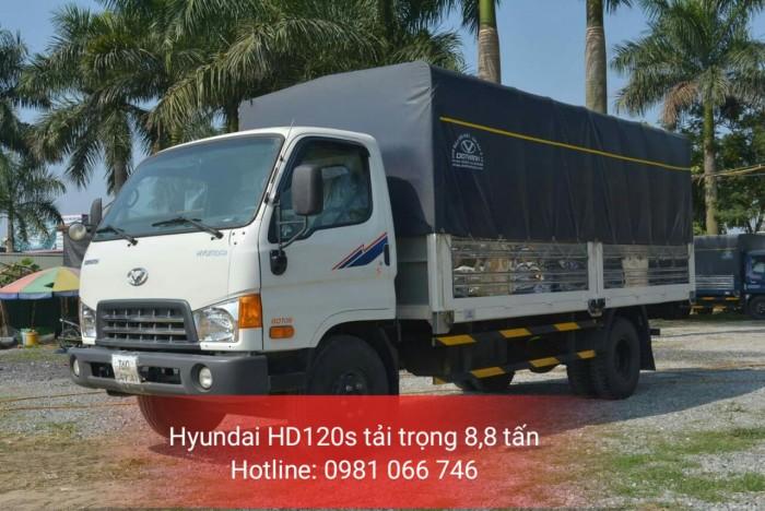 Hyundai HD120S tải trọng 8,8 tấn