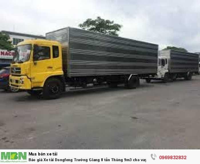 bán xe tải dongfeng_67t_cho vay trả góp