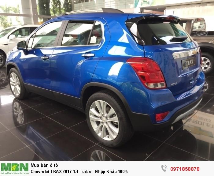 Chevrolet TRAX 2017 1.4 Turbo - Nhập Khẩu 100% - Vay 100% - Bao Hồ Sơ