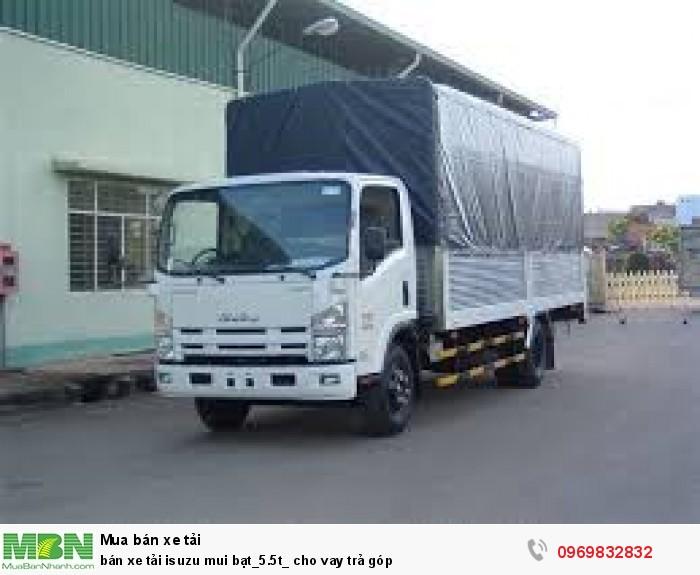 bán xe tải isuzu mui bạt_5.5t_ cho vay trả góp