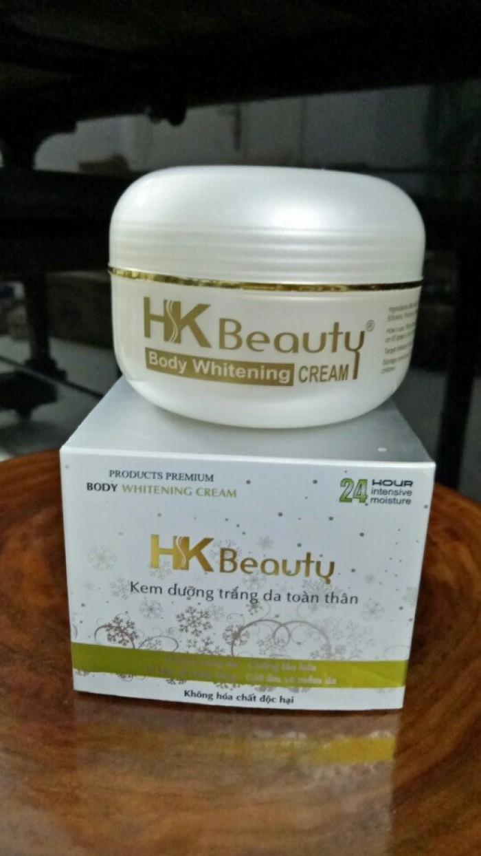 Kem dưỡng trắng da toàn thân HK beauty 0