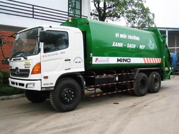 Xe ép rác Hino 22 khối tầm giá  bao nhiêu? 0