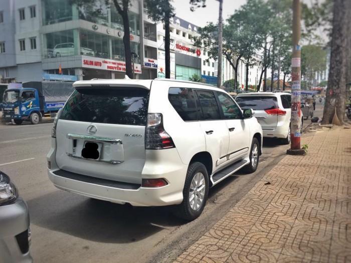 Bán xe Lexus GX 460 2013, ĐK lần đầu 2015, màu trắng, Có hỗ trợ vay ngân hàng. 3