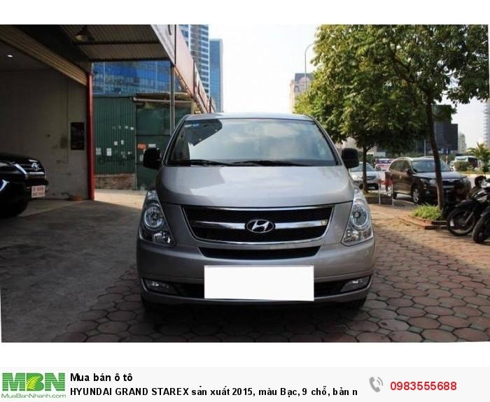 Hyundai H1 sản xuất năm 2015 Số tay (số sàn) Động cơ Xăng