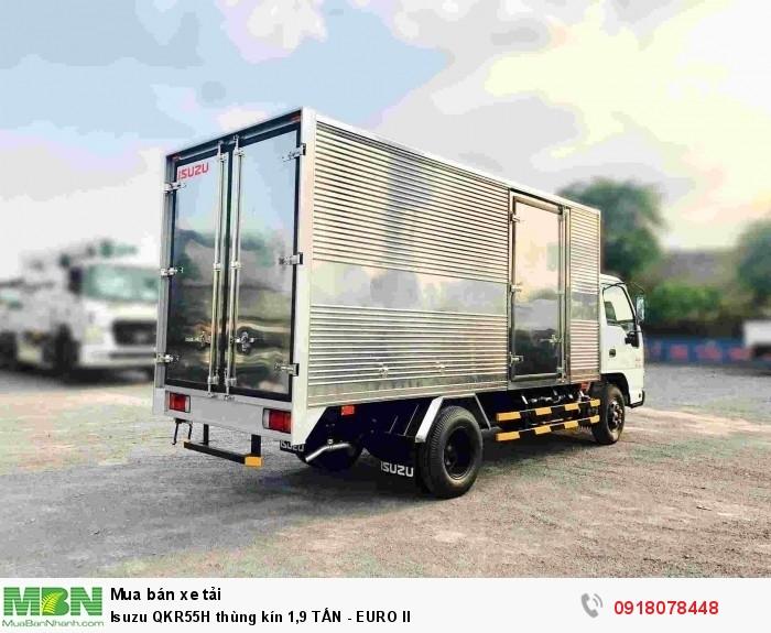 Isuzu QKR55H thùng kín 1,9 TẤN - EURO II