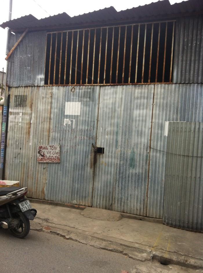 Nhà nát bán đất mặt tiền đường Nguyễn Văn Hoa, Phường Thống Nhất | Hoàng Phạm