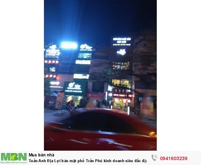 Bán mặt phố Trần Phú kinh doanh siêu đắc địa độc nhất vô nhị