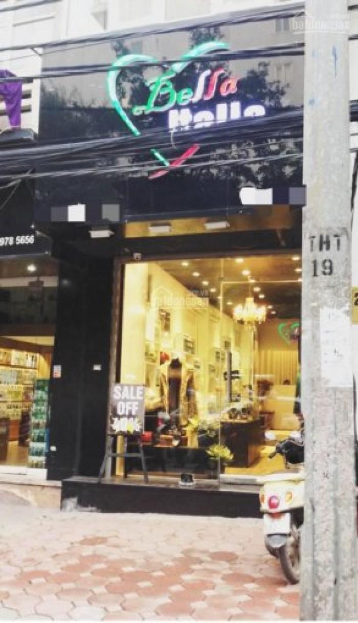 [CHO THUÊ]: Mặt phố Núi Trúc, 100m2, Mặt tiền 5m, hợp thời trang, shop
