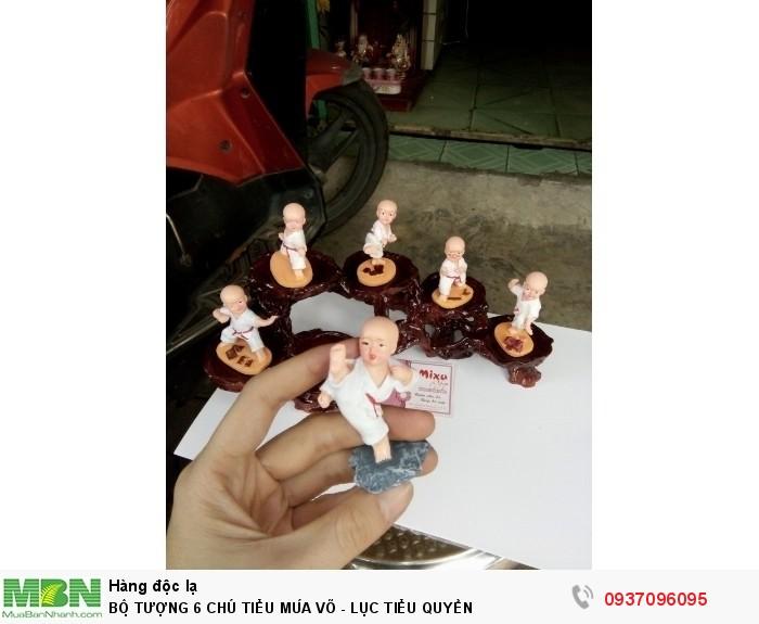 Bộ Tượng 6 Chú Tiểu Múa Võ - Lục Tiểu Quyền