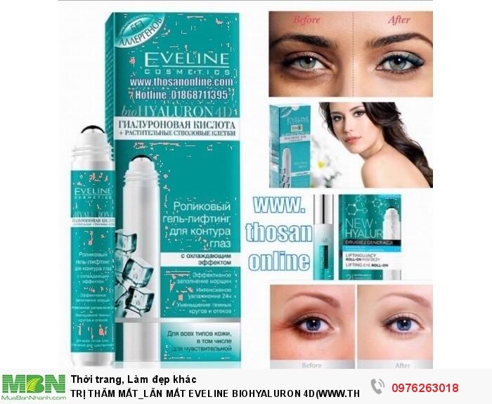 .Nguồn gốc sản phẩm: Nhập khẩu từ nga,Khối lượng sản phẩm: Net 15 ml dạng lỏng,Công dụng: chống thâm, chống nhăn, giảm thâm mắt