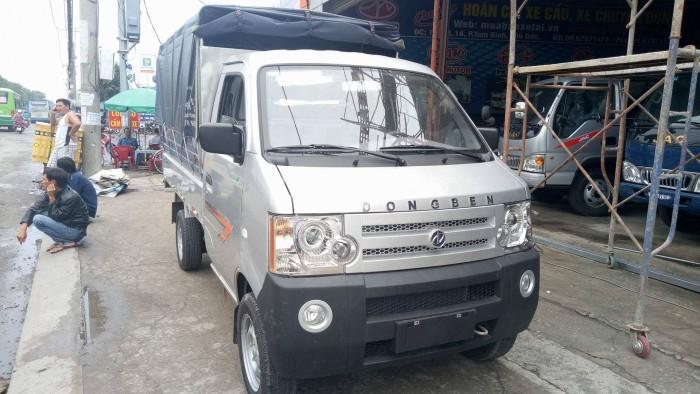 Bán xe tải nhỏ 870kg thùng dài 2.6m, Dongben 870kg thùng bạt, kín, lửng trả góp