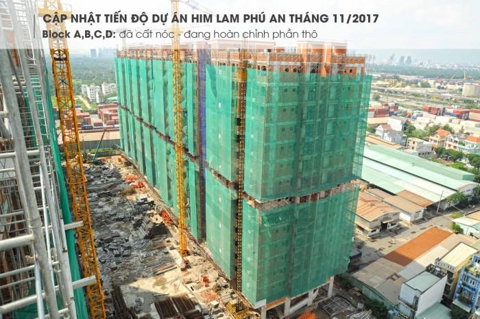 Bán căn hộ cao cấp Him Lam Phú An, rẻ hơn chủ đầu tư