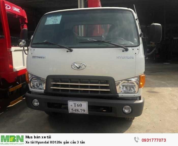 Hyundai HD120S sản xuất năm 2018 Số tay (số sàn) Xe tải động cơ Dầu diesel