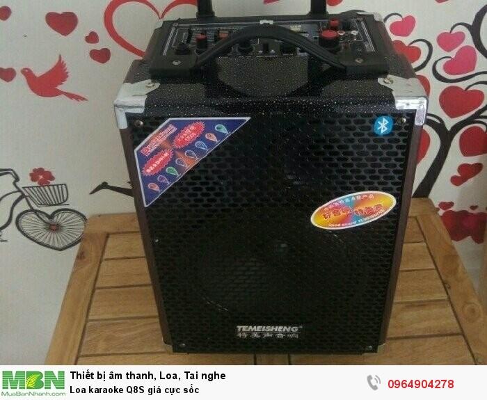 Loa karaoke Q8S giá cực sốc