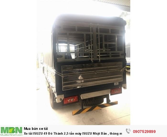 Xe tải IZ49  Đô Thành 2,5 tấn, Thùng Mui Bạt mới 100% - Cần Thơ,An Giang,Kiên Giang, Bạc Liêu,Cà Mau,Trà Vinh ,Sóc Trăng 0