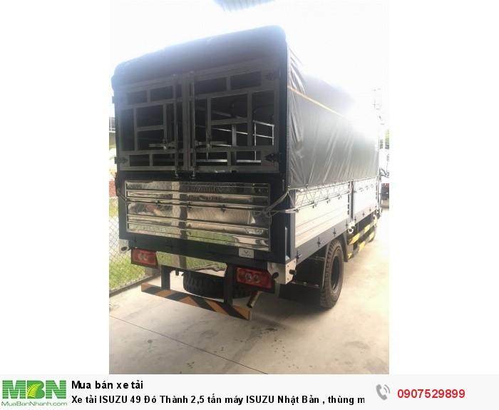 Xe tải IZ49  Đô Thành 2,5 tấn, Thùng Mui Bạt mới 100% - Cần Thơ,An Giang,Kiên Giang, Bạc Liêu,Cà Mau,Trà Vinh ,Sóc Trăng 1