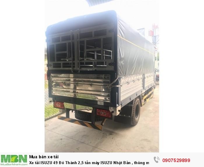 Xe tải IZ49  Đô Thành 2,5 tấn, Thùng Mui Bạt mới 100% - Cần Thơ,An Giang,Kiên Giang, Bạc Liêu,Cà Mau,Trà Vinh ,Sóc Trăng 2