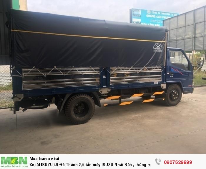 Xe tải IZ49  Đô Thành 2,5 tấn, Thùng Mui Bạt mới 100% - Cần Thơ,An Giang,Kiên Giang, Bạc Liêu,Cà Mau,Trà Vinh ,Sóc Trăng 5