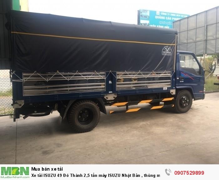 Xe tải IZ49  Đô Thành 2,5 tấn, Thùng Mui Bạt mới 100% - Cần Thơ,An Giang,Kiên Giang, Bạc Liêu,Cà Mau,Trà Vinh ,Sóc Trăng 6