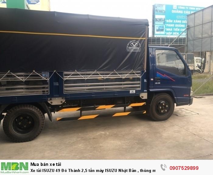 Xe tải IZ49  Đô Thành 2,5 tấn, Thùng Mui Bạt mới 100% - Cần Thơ,An Giang,Kiên Giang, Bạc Liêu,Cà Mau,Trà Vinh ,Sóc Trăng 7