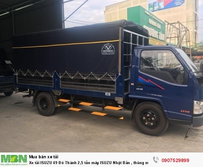 Xe tải IZ49  Đô Thành 2,5 tấn, Thùng Mui Bạt mới 100% - Cần Thơ,An Giang,Kiên Giang, Bạc Liêu,Cà Mau,Trà Vinh ,Sóc Trăng 8