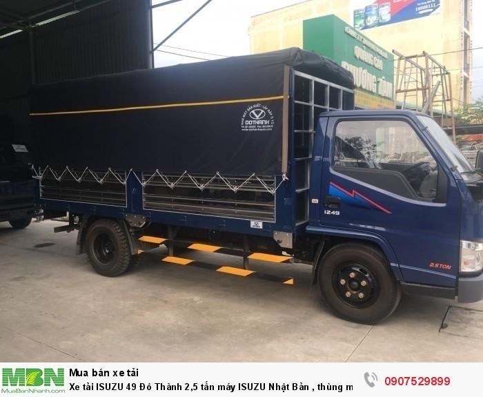 Xe tải IZ49  Đô Thành 2,5 tấn, Thùng Mui Bạt mới 100% - Cần Thơ,An Giang,Kiên Giang, Bạc Liêu,Cà Mau,Trà Vinh ,Sóc Trăng 9