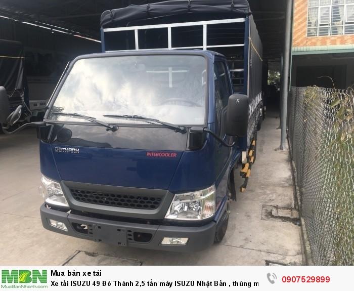Xe tải IZ49  Đô Thành 2,5 tấn, Thùng Mui Bạt mới 100% - Cần Thơ,An Giang,Kiên Giang, Bạc Liêu,Cà Mau,Trà Vinh ,Sóc Trăng 10