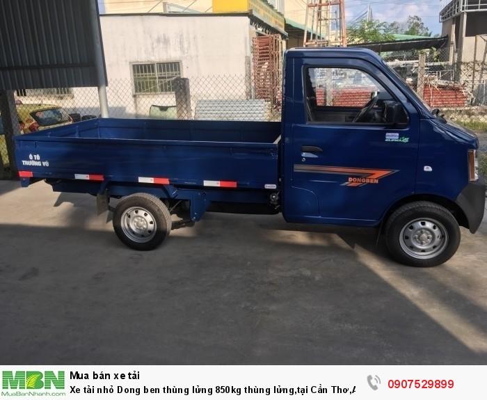 Xe tải nhỏ Dongben thùng lửng 850kg hỗ trợ trả góp lãi suất thấp ,tại Cần Thơ,An Giang,Kiên Giang,Bến Tre,Bạc Liêu,Sóc Trăng,Cà Mau,Trà Vinh 2