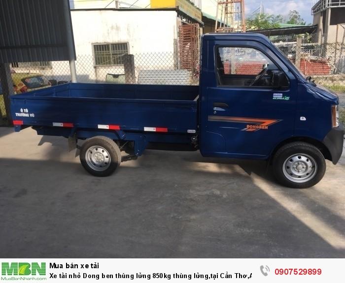 Xe tải nhỏ Dongben thùng lửng 850kg hỗ trợ trả góp lãi suất thấp ,tại Cần Thơ,An Giang,Kiên Giang,Bến Tre,Bạc Liêu,Sóc Trăng,Cà Mau,Trà Vinh 3