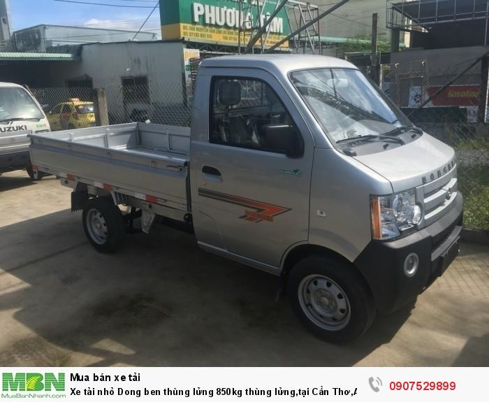 Xe tải nhỏ Dongben thùng lửng 850kg hỗ trợ trả góp lãi suất thấp ,tại Cần Thơ,An Giang,Kiên Giang,Bến Tre,Bạc Liêu,Sóc Trăng,Cà Mau,Trà Vinh 5