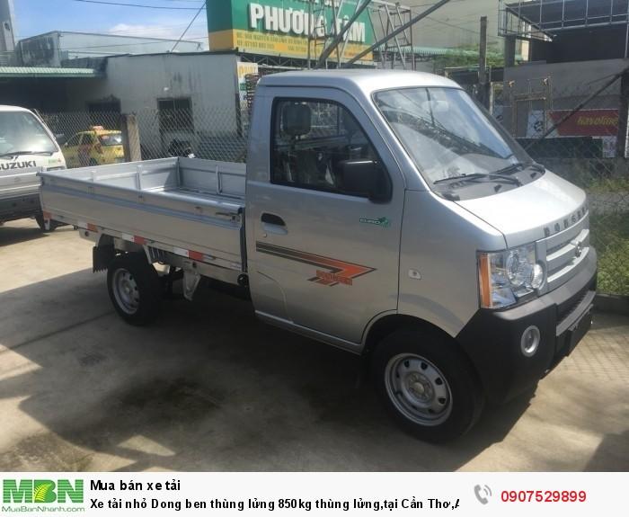 Xe tải nhỏ Dongben thùng lửng 850kg hỗ trợ trả góp lãi suất thấp ,tại Cần Thơ,An Giang,Kiên Giang,Bến Tre,Bạc Liêu,Sóc Trăng,Cà Mau,Trà Vinh 7