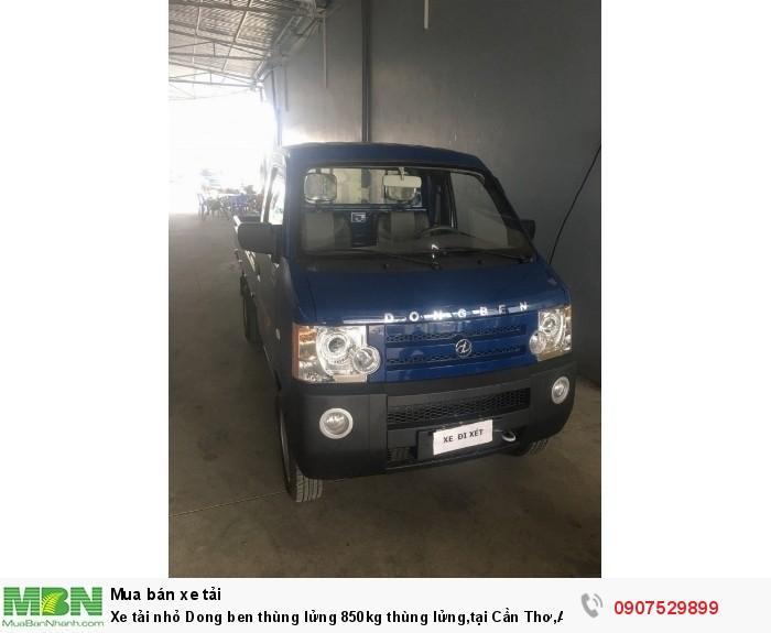 Xe tải nhỏ Dongben thùng lửng 850kg hỗ trợ trả góp lãi suất thấp ,tại Cần Thơ,An Giang,Kiên Giang,Bến Tre,Bạc Liêu,Sóc Trăng,Cà Mau,Trà Vinh 9
