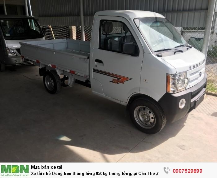 Xe tải nhỏ Dongben thùng lửng 850kg hỗ trợ trả góp lãi suất thấp ,tại Cần Thơ,An Giang,Kiên Giang,Bến Tre,Bạc Liêu,Sóc Trăng,Cà Mau,Trà Vinh 11