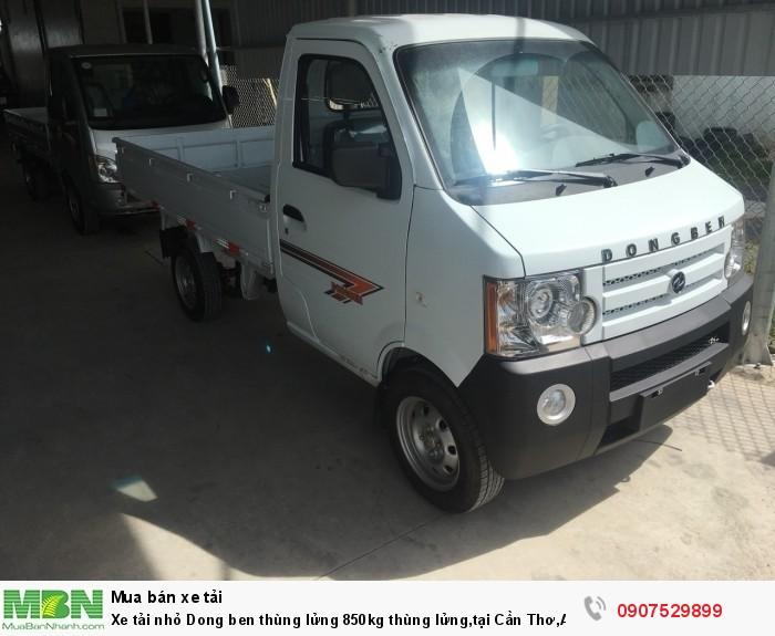 Xe tải nhỏ Dongben thùng lửng 850kg hỗ trợ trả góp lãi suất thấp ,tại Cần Thơ,An Giang,Kiên Giang,Bến Tre,Bạc Liêu,Sóc Trăng,Cà Mau,Trà Vinh 12
