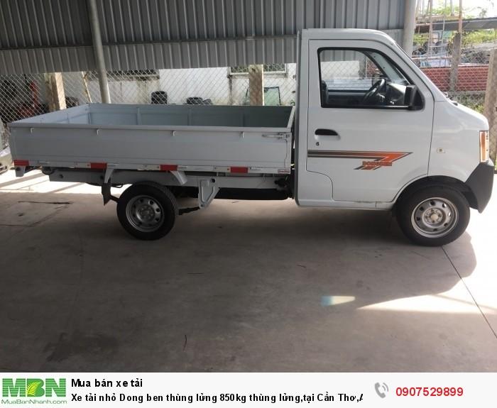 Xe tải nhỏ Dongben thùng lửng 850kg hỗ trợ trả góp lãi suất thấp ,tại Cần Thơ,An Giang,Kiên Giang,Bến Tre,Bạc Liêu,Sóc Trăng,Cà Mau,Trà Vinh 14