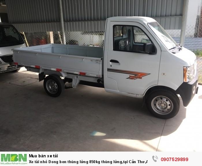 Xe tải nhỏ Dongben thùng lửng 850kg hỗ trợ trả góp lãi suất thấp ,tại Cần Thơ,An Giang,Kiên Giang,Bến Tre,Bạc Liêu,Sóc Trăng,Cà Mau,Trà Vinh 15