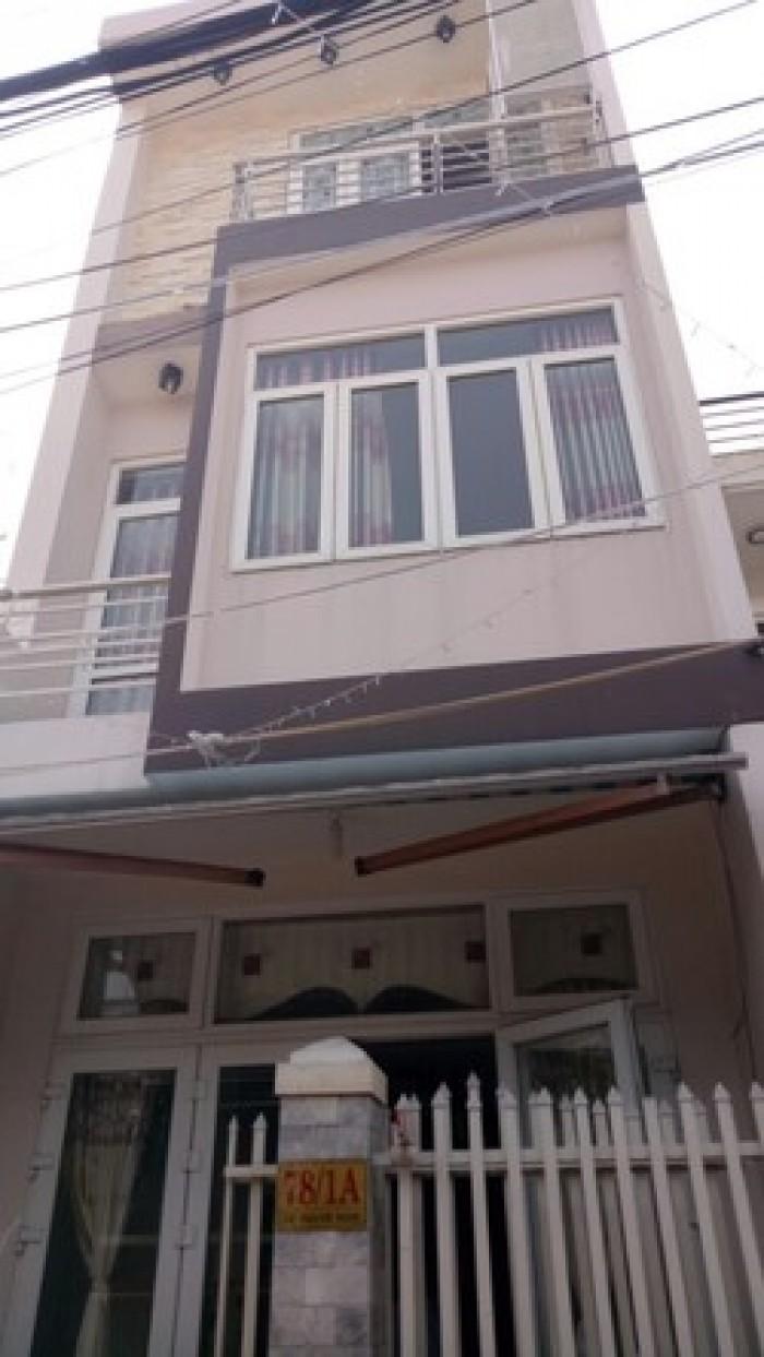 Cần bán nhà mặt tiền đường Tên Lửa, quận Bình Tân. Diện tích : 6x21m. Nhà đúc 3,5 tấm.