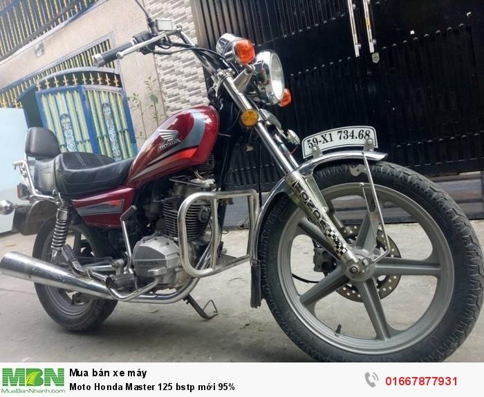 Moto Honda Master 125 bstp mới 95%