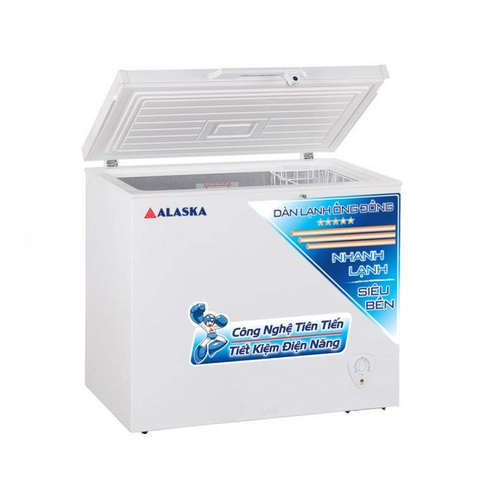 Tủ cấp đông Alaska BD-300C, tủ đông dàn đồng 300 lít2