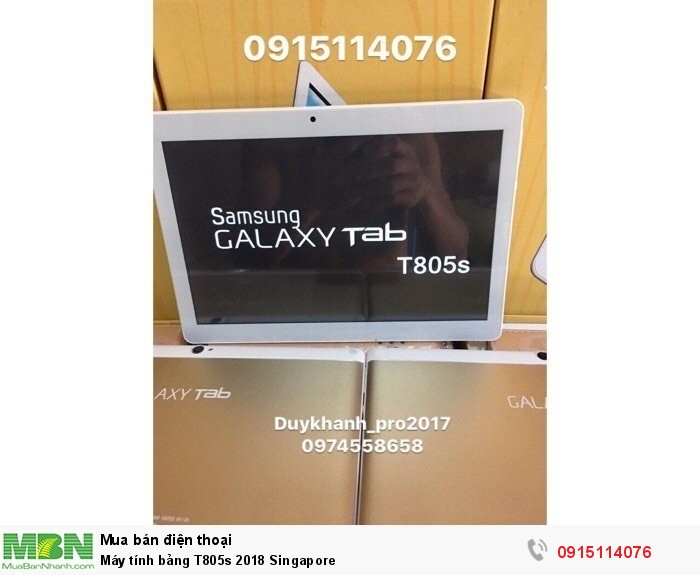 Máy tính bảng T805s 2018 Singapore0