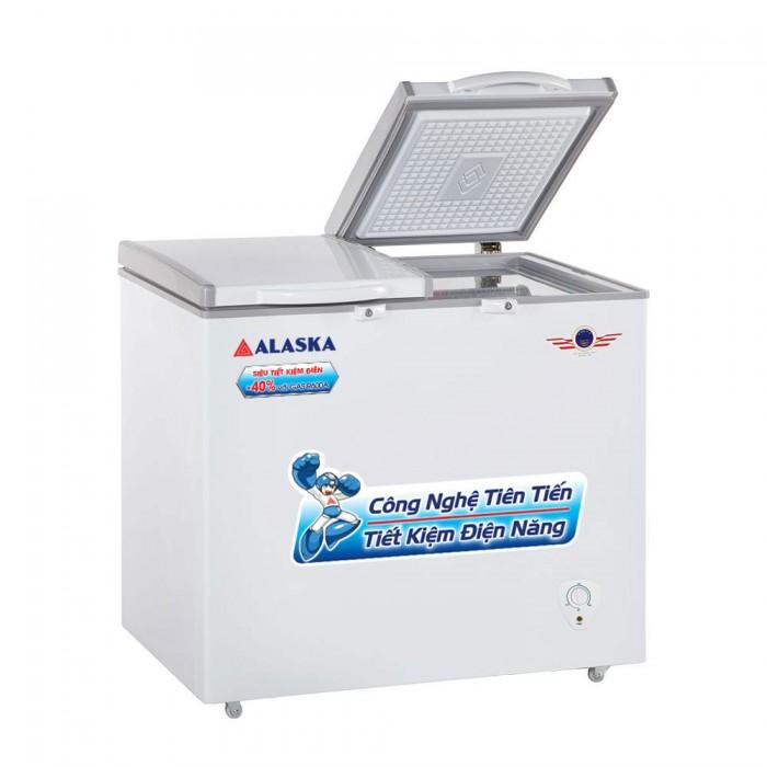 Tủ đông mát Alaska BCD-3068N (250 lít)0