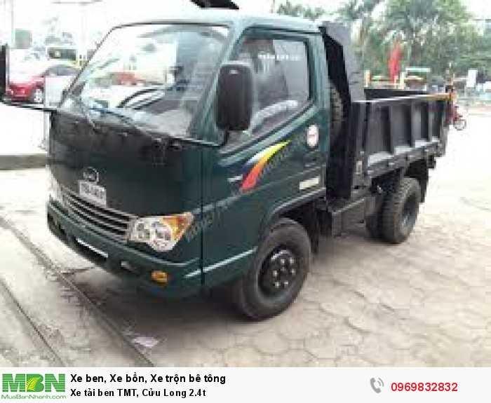 Xe tải ben TMT, Cửu Long 2.4t