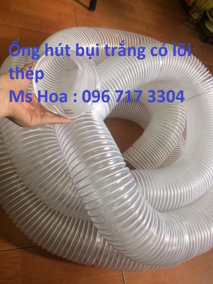 Ống nhựa lõi thép hút bụi D75, D100, D125, D150,D200 giá cực sốc4